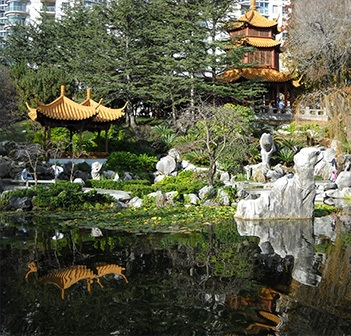 Chinese Gardens Tour & Dragon Boat Races