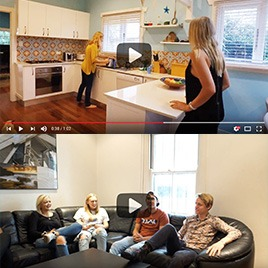 New accommodation videos